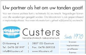 Advertentie Custers 20-03