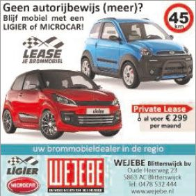 Advertentie WeJeBe 20-03